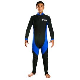 UL09連身水母衣 衝浪衣 潛水 釣魚 萊卡布 M號 (防水母.防曬)台製