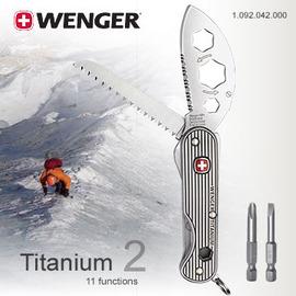 ~鄉野情戶外用品店~ Wenger ^|瑞士^| Titanium 2╱Ueli Stec