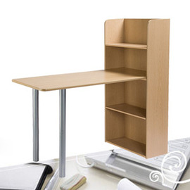 一體式書桌122x120x57cm(辦公桌.電腦桌.工作桌.辦公傢俱.便宜) C015-5548