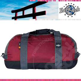 【美國 Eagle Creek】Duffel系列 110L多功能手提單肩行李袋.行李包.收納包.手提包.整理袋.打理包. 露營.旅行.旅遊/深紅 #20300