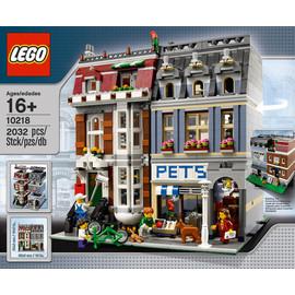 LEGO 经典系列【10218 宠物店 Pet Shop 】