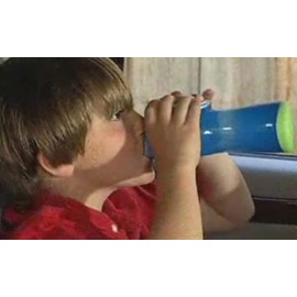 美國CONTIGO AUTOSEALR Kids 兒童專用水瓶 (9oz/265ml) AKB100A02 藍色