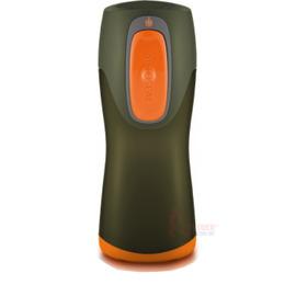 美國CONTIGO AUTOSEALR Kids 兒童專用水瓶 (9oz/265ml) AKG100A03 軍綠色