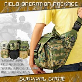 多功能野戰斜背包 C99-0442 (斜背包包.運動包.背包包.生存遊戲.迷彩包包.便宜)
