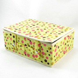 手提箱9格折疊式收納盒 硬板殼 硬底板不塌陷不起皺 居家旅行裝小用品及貼身衣襪 26x9x