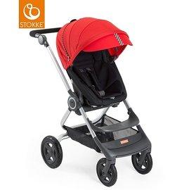挪威【Stokke】 Scoot 推車專用套件組(賽車風格)-紅色