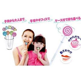 棒棒糖造型專用刮舌苔棒