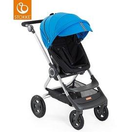 挪威【Stokke】 Scoot 推車專用套件組(賽車風格)-藍色