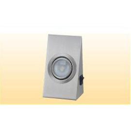 1W LED斜度長型燈82x145x52mm★暖白光★內含變壓器、開關★毛絲沙鎳材質