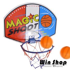 【Q禮品】掛壁籃球框-小/塑膠版籃球框/籃球架/簡易式籃球架/籃球板/組裝式籃球框 ,輕巧好收納,可以掛在椅背上