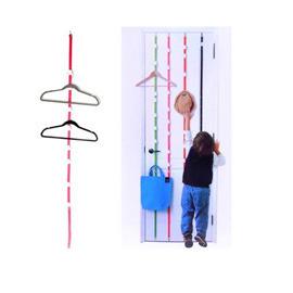 創意 可調節式多功能門後掛勾帶(8連勾)
