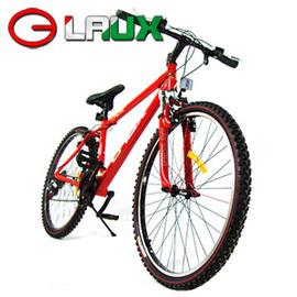 【LAUX 雷克斯】標致 26吋18速鋁合金前避震登山車及自行車 C114-09.腳踏車.卡打車.單車(95%組裝完成)