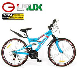 【LAUX 雷克斯】哈佛 26吋18速避震登山車及自行車(95%組裝完成) C114-16.卡打車.單車