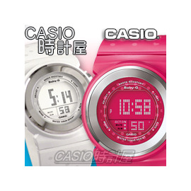 BABY~G系列 手錶_BGD~104_BGD~105_CASIO 時計屋_錶面液晶顯示_