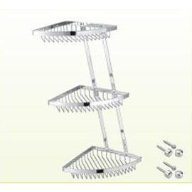 三層轉角架S23003★不鏽鋼鍍鉻材質