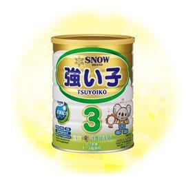 【雪印】 金強子3號奶粉