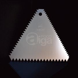 【艾佳】SN4081-不銹鋼三角齒刮板(電解)/片