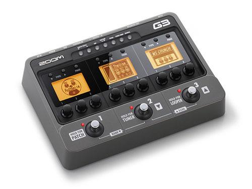 g3拥有13种电吉他音箱前级放大