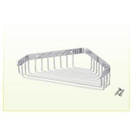 單層開口轉角架S24002★不鏽鋼鍍鉻材質
