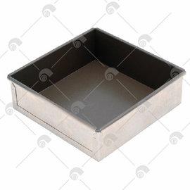 【艾佳】SN5131-8吋固定方型蛋糕模(不沾)/個