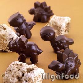 【艾佳】SCG16-Silikomart12連恐龍矽膠巧克力模/個