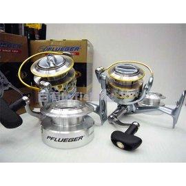 ◎百有釣具◎BERKLEY貝克力 PFLUEGER 7435X型/7450X型 雙線杯紡車式捲線器