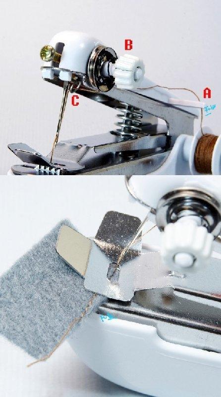 迷你缝衣机/迷你手动缝纫机~专利商品