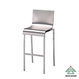 ~Ailiwu愛麗屋~科技鋁板高腳吧檯椅#1554A ~ 吧檯椅 吧台椅 椅 高腳椅