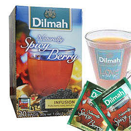 Dilmah帝瑪莓果茶 ∼天然莓果茶 風味獨特 ~無咖啡因~衛福部食藥署檢驗合格~新貨已到
