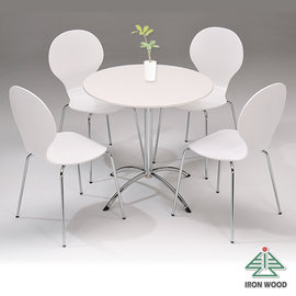 ~Ailiwu愛麗屋~簡約高雅圓餐桌椅組 1桌4椅  #1101 #1493 ~ 餐桌 餐