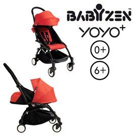 法國【BABYZEN】 YOYO-Plus手推車+新生兒套件(紅色)