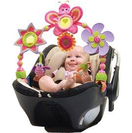 【紫貝殼】『CC09-2』Tiny Love 造型轉盤拉球玩具/嬰兒手推車汽座提籃/夾置玩具 0+ (蝴蝶)