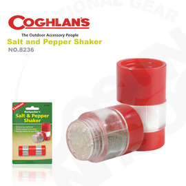 【Coghlans -加拿大】胡椒 鹽罐 調味罐 Salt and Pepper Shaker.輕巧不佔空間 露營 登山 8236