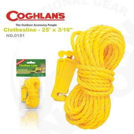 【Coghlans -加拿大】曬衣繩 Adjustable Bungee Clothesline.固定扣  # 0181