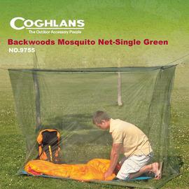 【Coghlans -加拿大】一人防蚊帳 Backwoods Mosquito Net-Single Green.輕量帳篷.帳蓬.露營.登山 四方型 9755