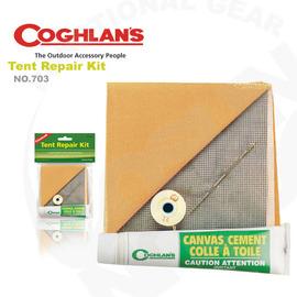 【Coghlans -加拿大】帳棚修補包/尼龍粘著劑/防水修補片(帳篷) 適天幕 炊事帳 Tent Repair Kit 703