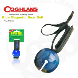 【Coghlans -加拿大】可消音熊鈴 Colored Bear Bell with Magnetic Silencer.警告動物 鈴鐺 登山 露營 0757-(藍)