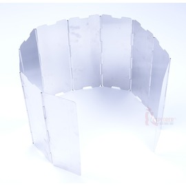 RV-AC200十片鋁合金擋風板(附收納盒)  擋風片