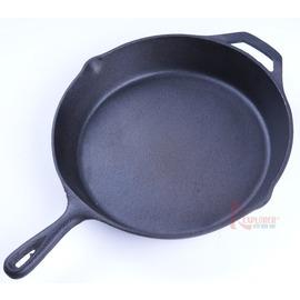RV-IRON1200鑄鐵鍋12吋平底煎鍋 平底鍋  荷蘭鍋
