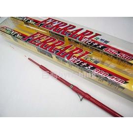 ◎百有釣具◎FERRARI 法拉利前打竿  450-530 紅色耀眼塗裝 攻黑鯛專用~再送前打捲線器及日本原裝魚鉤