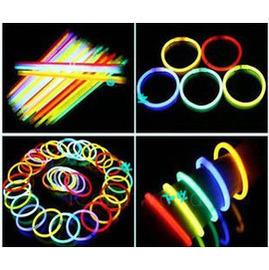 (2入)螢光棒/螢光手環~可無限接長,或做成手環、字母等!
