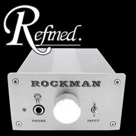 志達電子 RHP RockMan 家用耳擴 耳機擴大機 開放試聽 ^( 貨^) solo