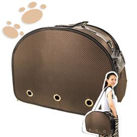 水玉點點寵物出外包 C141-8816(狗.貓.動物.寵物.出外.寵物包.寵物袋.寵物用品.背袋.提籃.側背包.便宜)