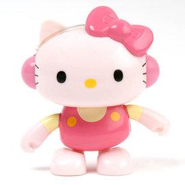 ~Amuzinc酷比樂~療癒玩具╱太陽能字卡搖頭娃娃 粉紅Hello Kitty