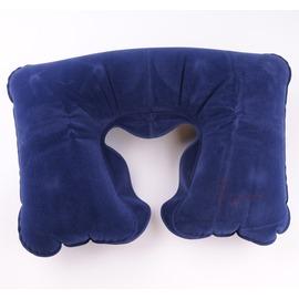 55201吹氣絨布睡枕/午安枕/飛機枕(附收納袋)