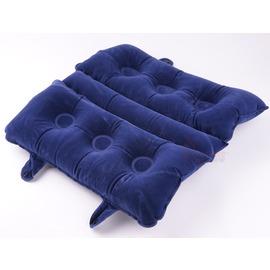 55210吹氣座墊/絨布睡枕(可折疊多用途)