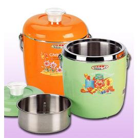 三光牌姐妹廠 寶石牌嬌美保溫提鍋 2.2L(特大)附菜盒!可當冰桶!2200cc/保溫鍋/便當盒/餐盒