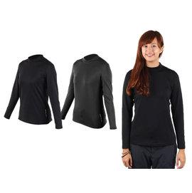 荒野 WildLand 女遠紅外線彈性保暖衣(高領長袖T恤 刷毛【03370044】≡排汗專家≡