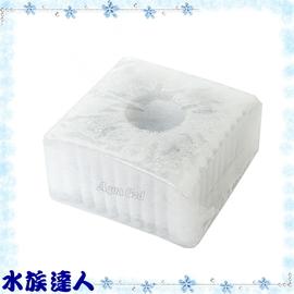 【水族達人】日本GEX五味《三重過濾水中過濾器(水妖精)替換濾材 ˙S(1入)》