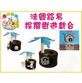 ~童話寵物~法國Zolux 棕櫚樹遊戲台 遊戲窩 貓咪 寵貂 用